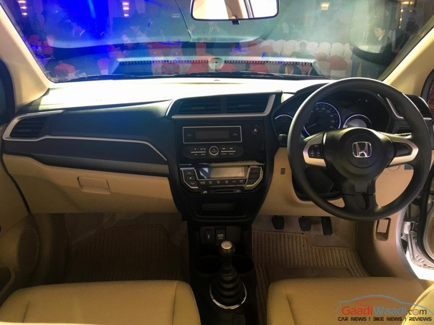 2016 New Honda Amaze facelift Spec Review Price Pics-9