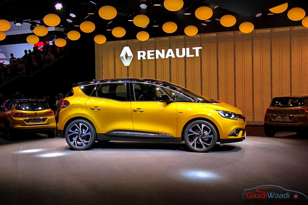 2016 renault scenic unveiled at geneva motor show latest car news bikes news. Black Bedroom Furniture Sets. Home Design Ideas