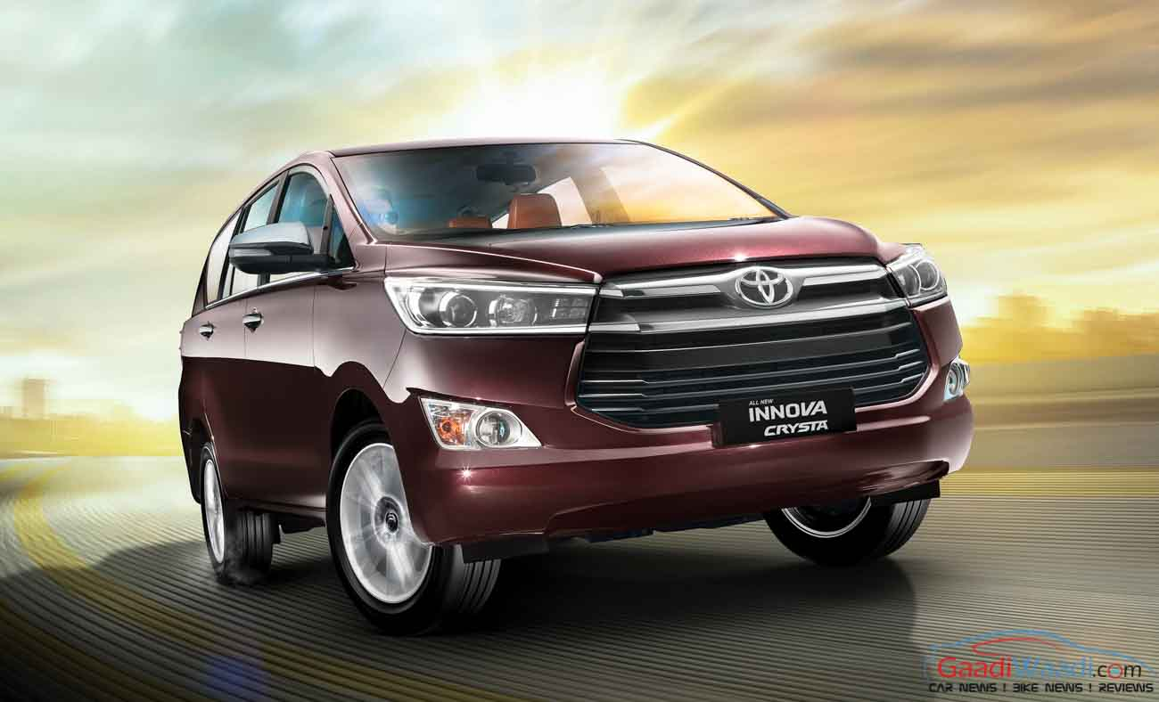 Exclusive Toyota Innova Crysta Petrol Will Be Powered By