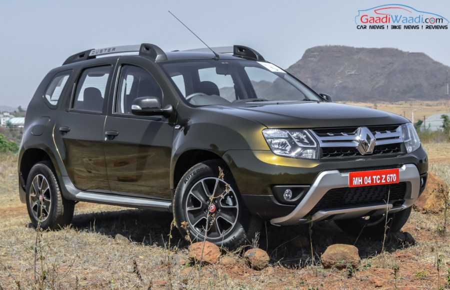2016 renault duster facelift first drive review latest car news bikes news. Black Bedroom Furniture Sets. Home Design Ideas