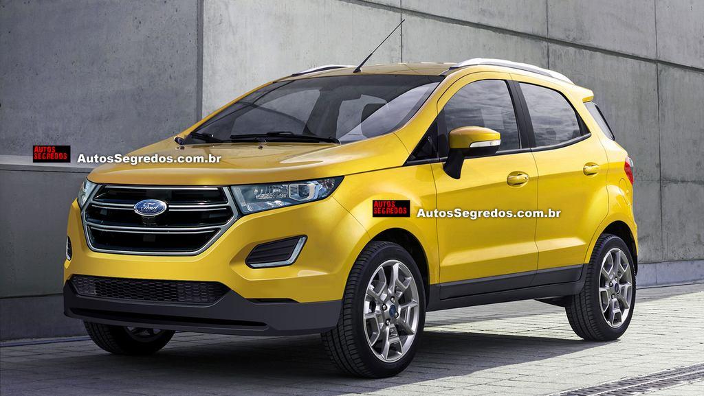 2017 Ford Ecosport Facelift
