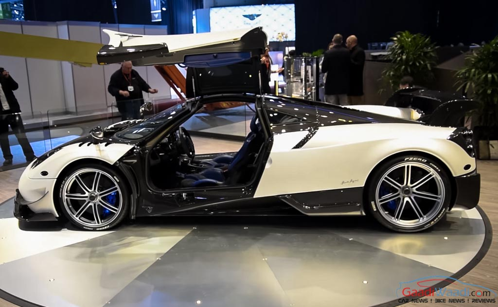 home pagani huayra bc makes world premiere at 2016 geneva motor show
