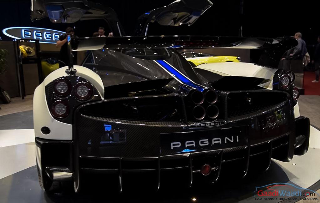 Pagani Huayra BC Makes World Premiere at 2016 Geneva Motor Show ...