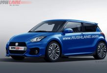 2017 Maruti Swift in rendered images