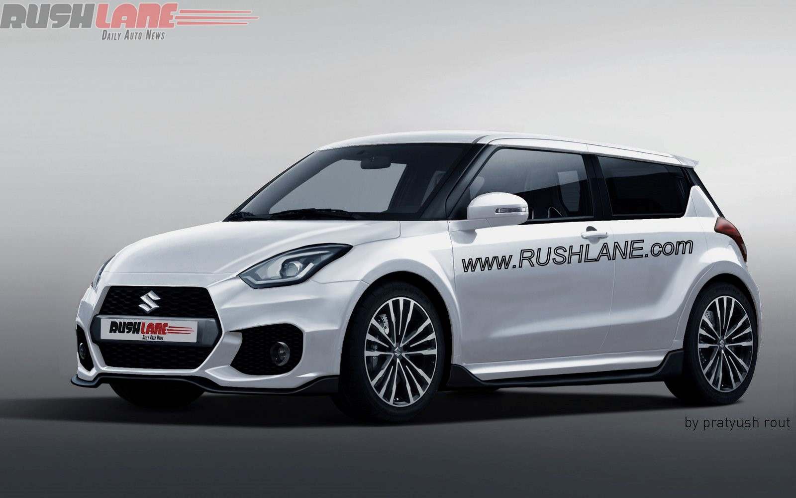 2017 maruti suzuki swift looks aggressive and appealing rendered images. Black Bedroom Furniture Sets. Home Design Ideas