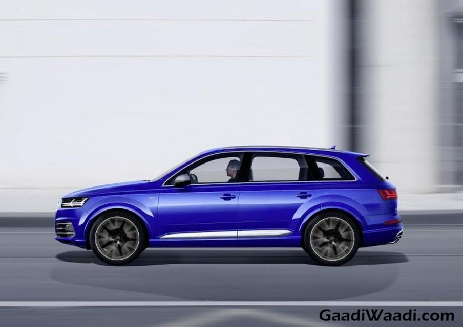 Audi SQ7 TDI side profile