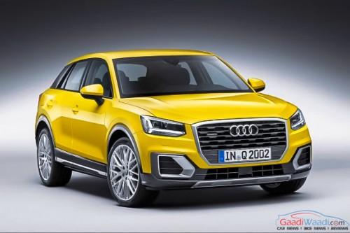 Audi q2 Geneva Auto show