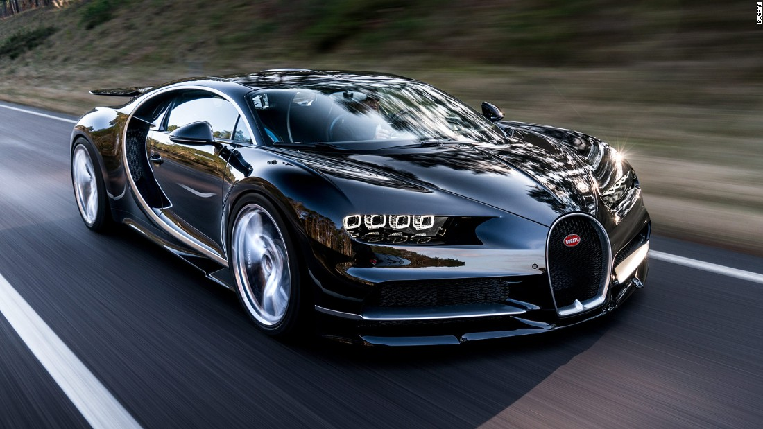 Bugatti Chiron Sold First 200 Units Out Of 500 Announced