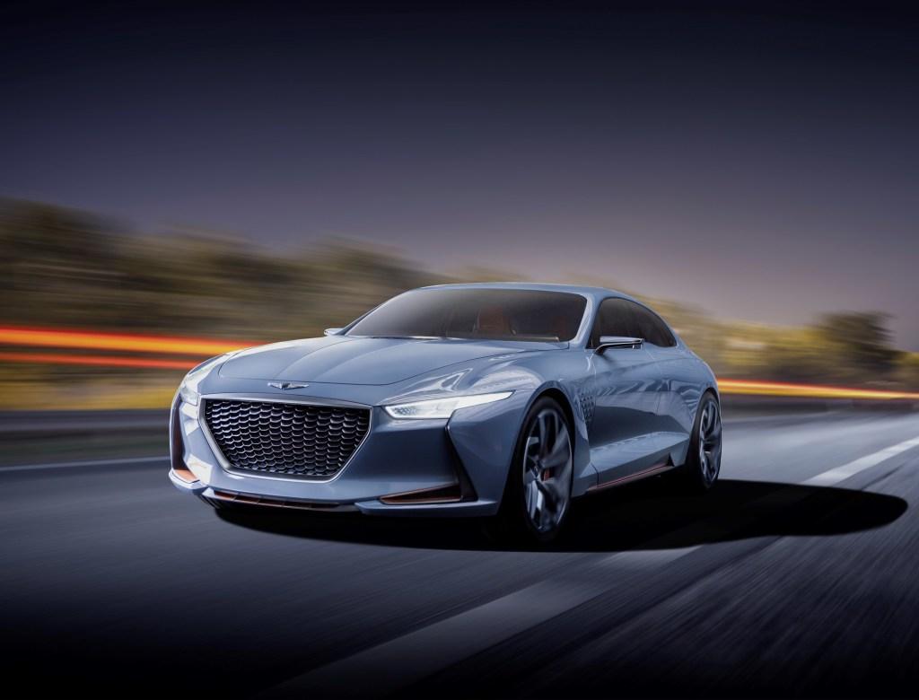 Genesis Hybrid Sedan Concept