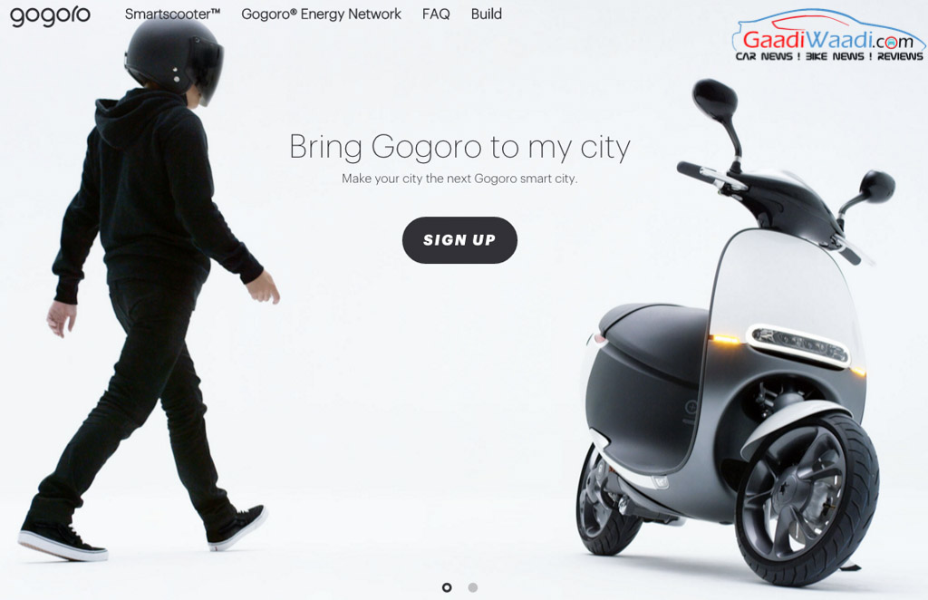 Gogoro Scooter India Launch