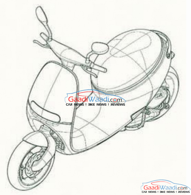 Gogoro Scooter patented in India-2
