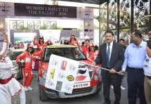 JK Tyre Women's Rally to The Valley