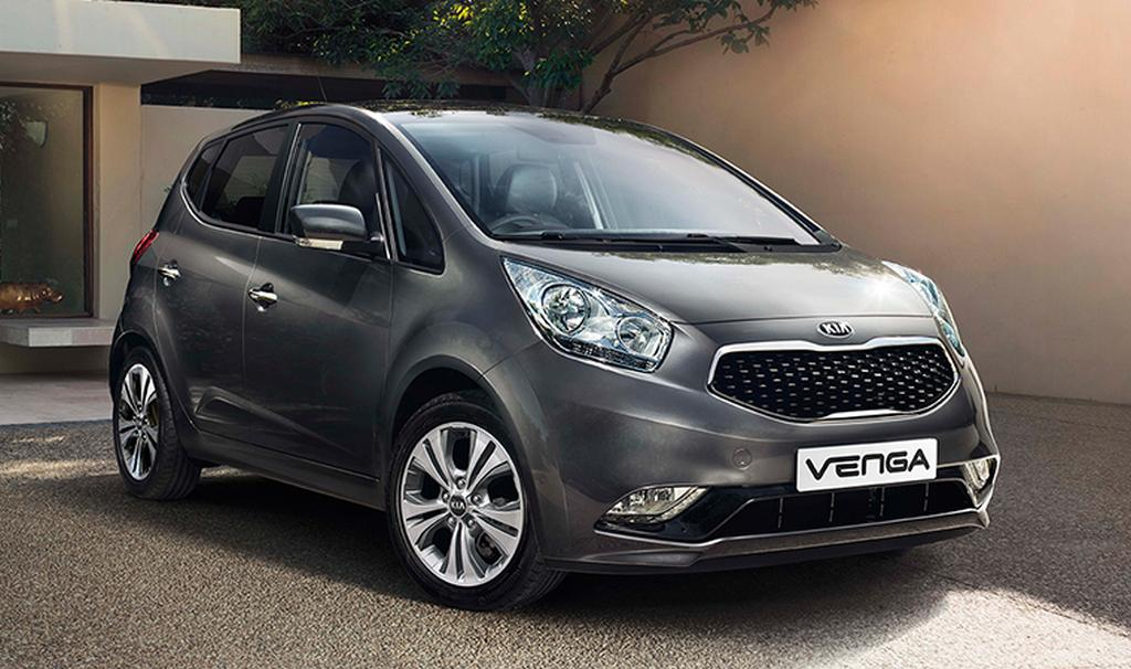 Kia Venga Spotted Testing In India