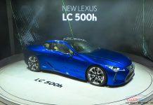 Lexus LC500h Geneva motor show 2016