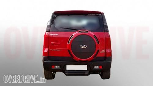 Mahindra Quanto Facelift (Nuvosport) rear