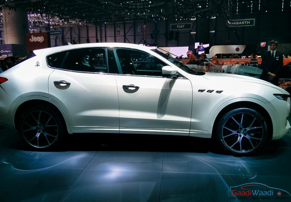 maserati levante suv unveiled at the 2016 geneva motor show latest car news. Black Bedroom Furniture Sets. Home Design Ideas