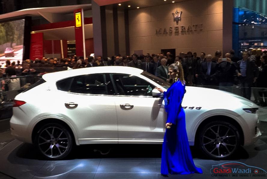 Maserati Levante SUV Unveiled