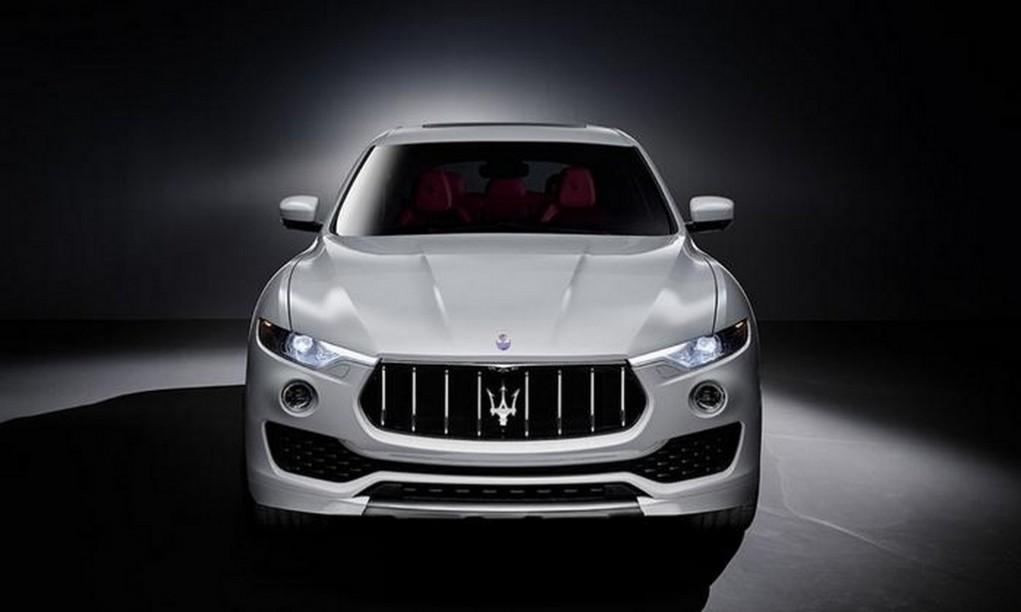 Maserati Levante front fascia