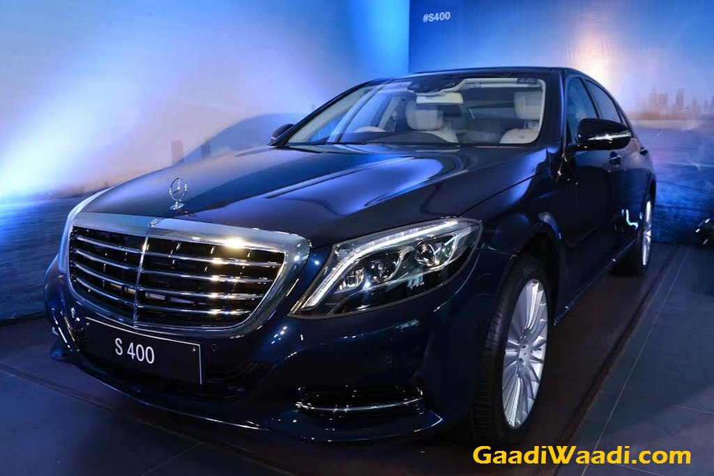 mercedes benz s400 launched in india at rs crore