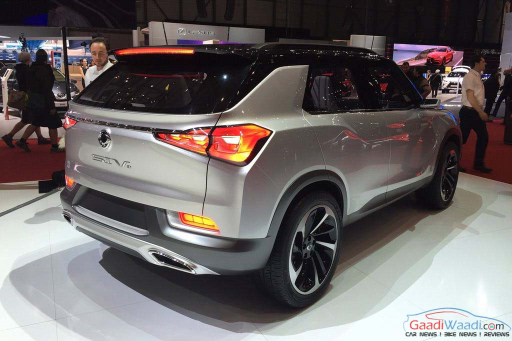 ssangyong xlv 7 seater tivoli appears at 2016 geneva motor show latest car. Black Bedroom Furniture Sets. Home Design Ideas