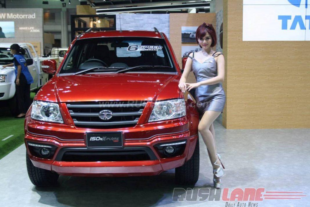 Tata Xenon automatic at 2016 Bangkok Motor Show