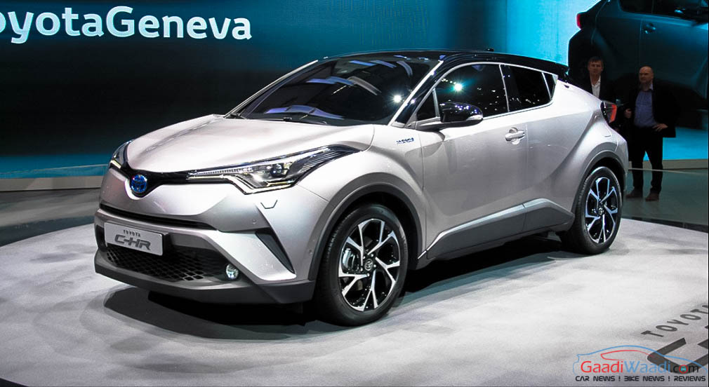 Toyota Hybrid Sales in Europe to Increase with C-HR Crossover