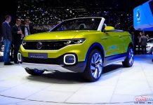 Volkswagen T-Cross Breeze Concept front fascia