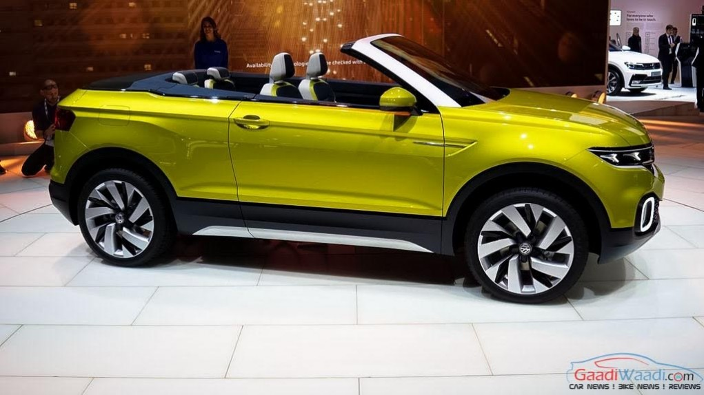 Volkswagen T-Cross Breeze Concept side profile