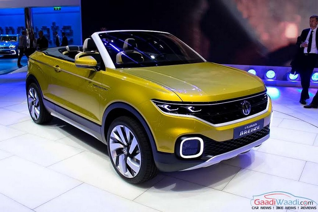 volkswagen polo suv 2018. beautiful polo volkswagen polobased compact suv will take design cue from tcross breeze  concept and budde concept launch due in late 2018 in volkswagen polo suv