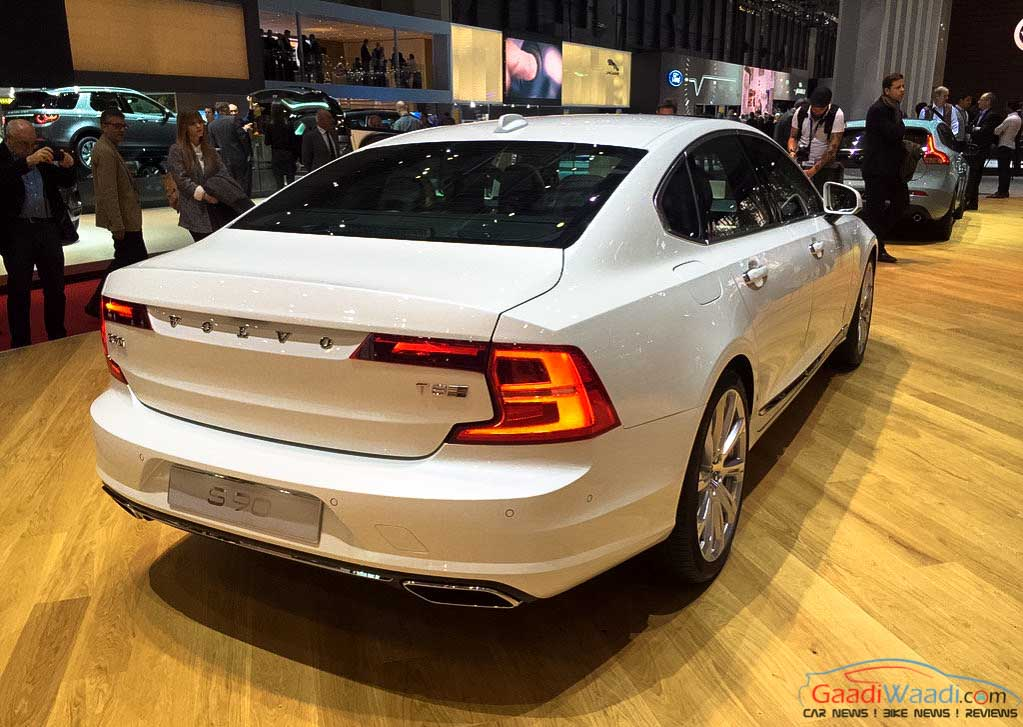 Tnt Auto Sales >> Volvo S90 Geneva auto show 2016-4 - Gaadiwaadi.com