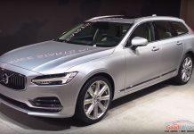 Volvo V90 Estate Revealed at the 2016 Geneva Motor Show