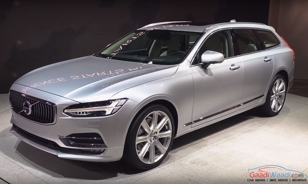 Tnt Auto Sales >> New Volvo V90 Rolled Out of Manufacturing Plant in Sweden ...