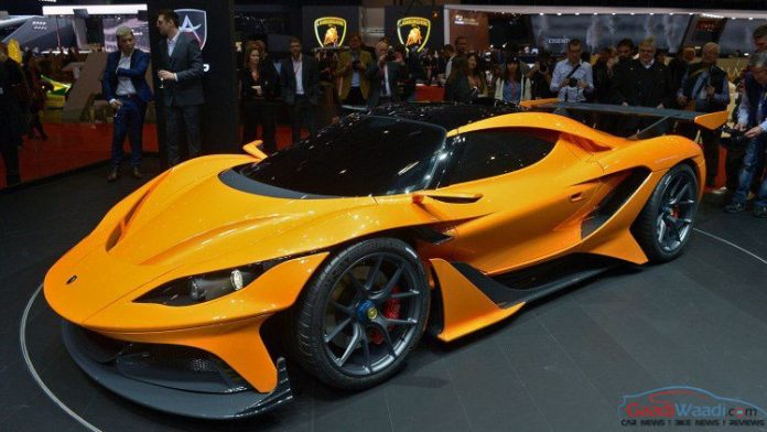 Apollo Arrow Intimidates In All Its Glory At 2016 Geneva