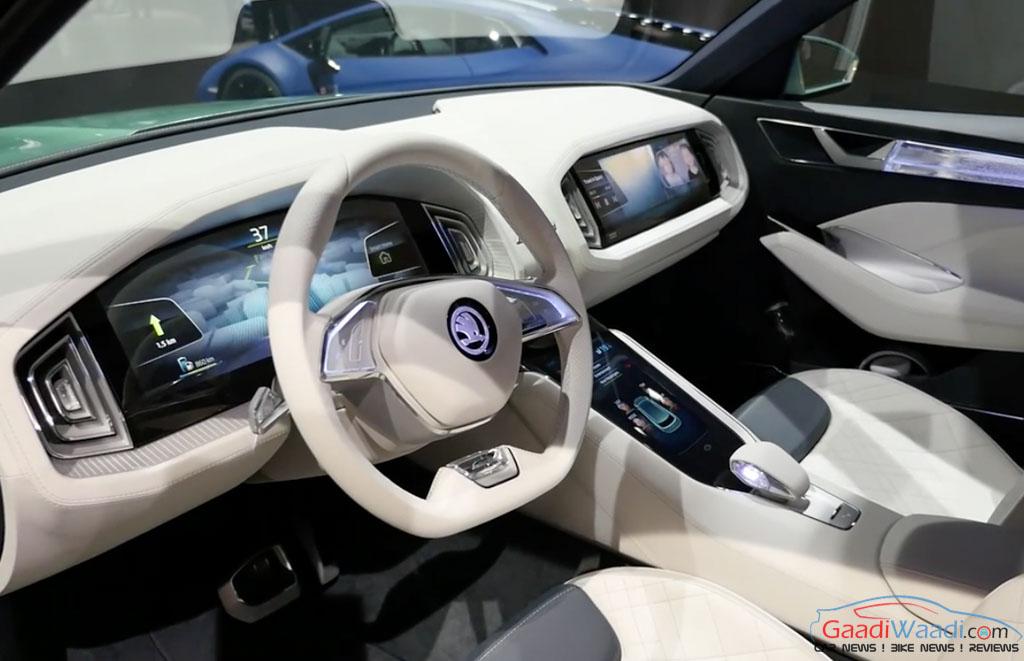 Skoda Kodiak SUV India Debut In Late 2017 - Gaadiwaadi.com ...