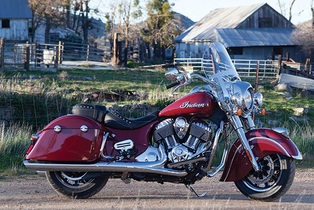 2016 Indian Springfield Launched in India