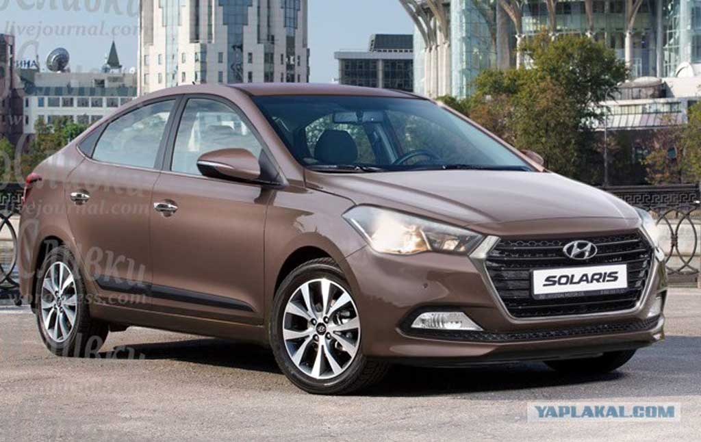 2017 Hyundai Verna Front Rendering Gaadiwaadi Com