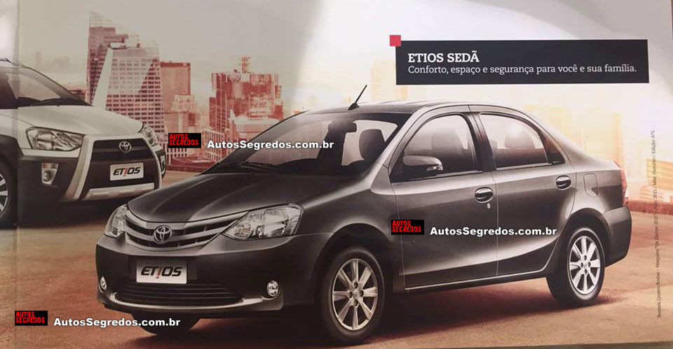 2017 Toyota Etios Leaks Online India Launch Likely Next