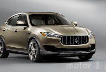 2018 Maserati Kubang leaked