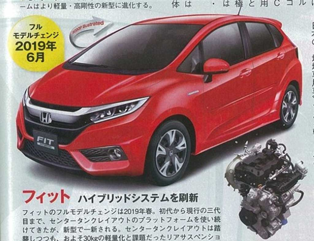 2018 Honda Jazz to Get Revised Front Fascia Inspired by Honda Civic ...