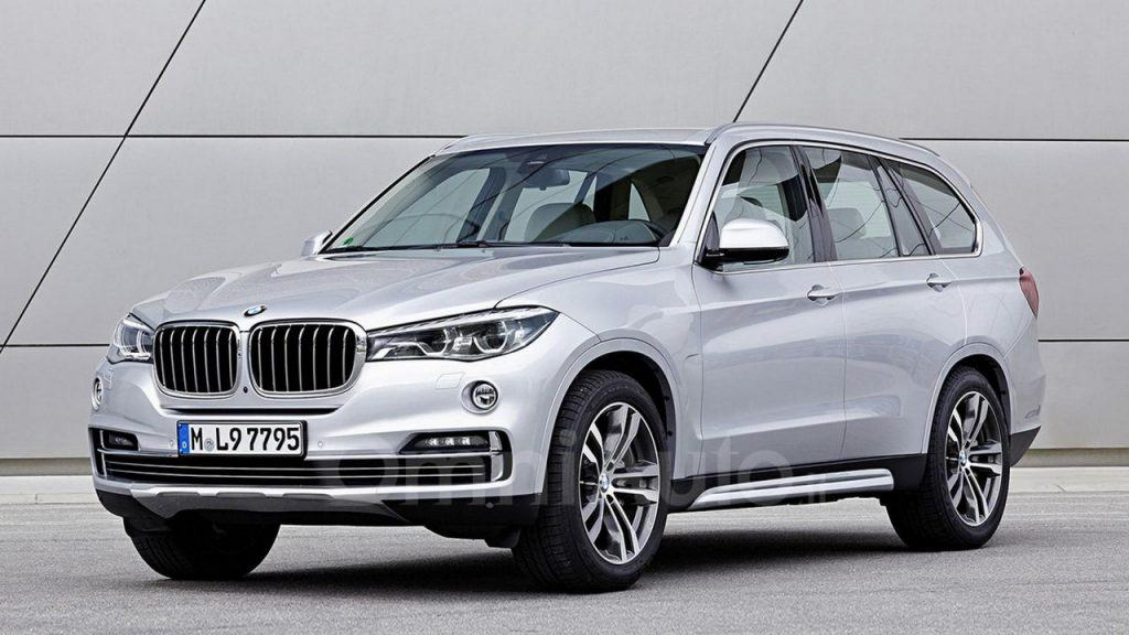 BMW X7 Rendered