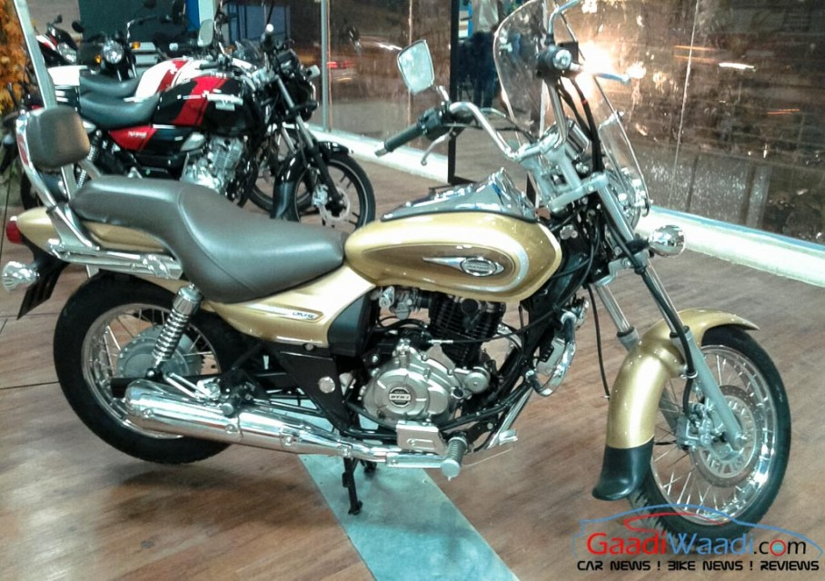Bajaj Avenger Street 220 launched in gold colour-3