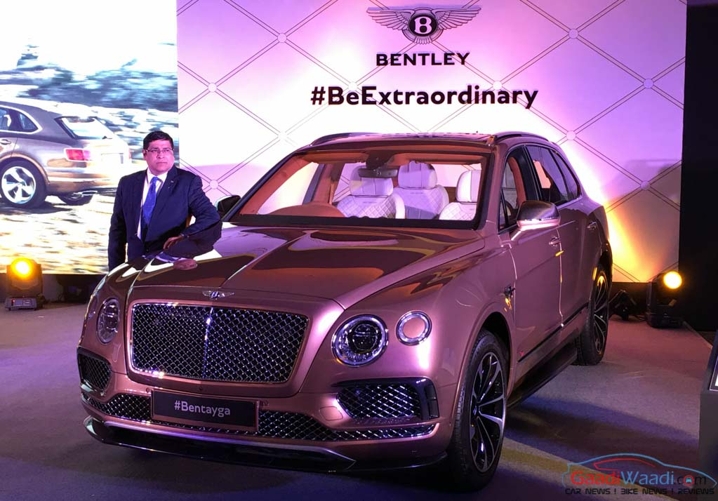 world's fastest & powerful suv bentley bentayga launched in india