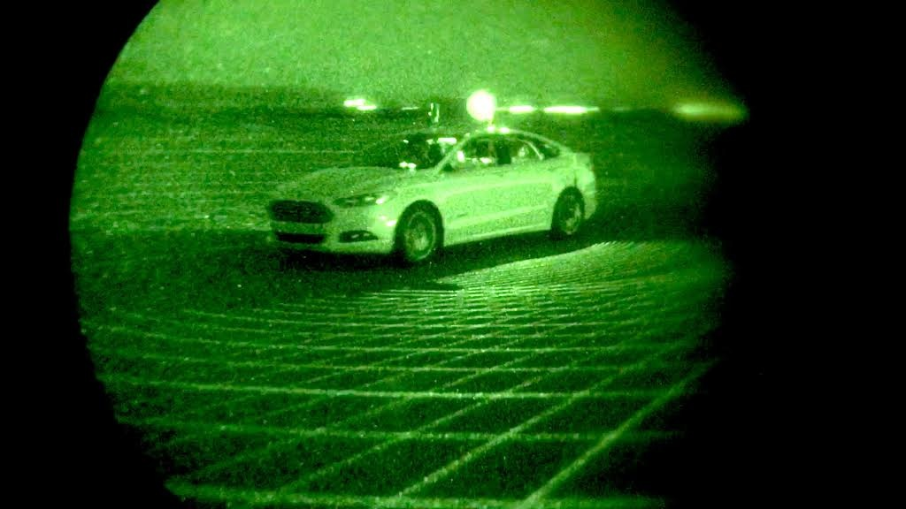 Ford LiDAR Sensor Technology Helps to See in the Dark 6