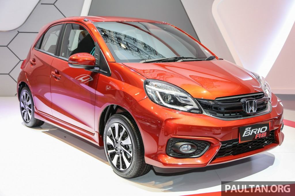 Honda Brio Rs Launched In Indonesia Gets Amaze Facelift Inspired