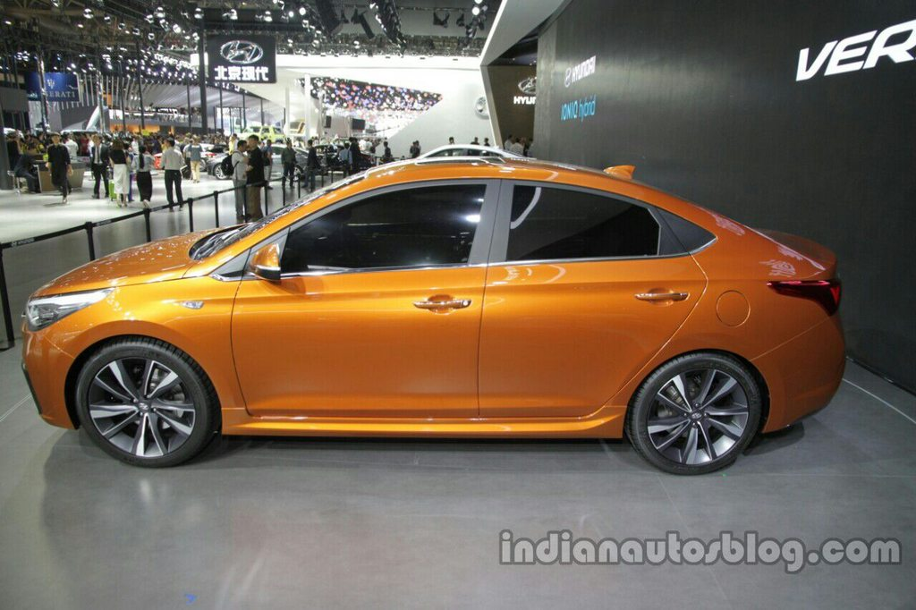 Next Generation 2017 Hyundai Verna Concept Unveiled At The