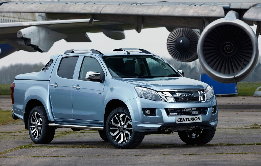 isuzu d max centurion special edition launched in the uk latest car news. Black Bedroom Furniture Sets. Home Design Ideas