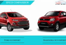 Mahindra nuvosport vs ford ecosport comparison
