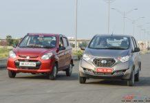 Maruti Alto 800 vs Datsun Redigo_