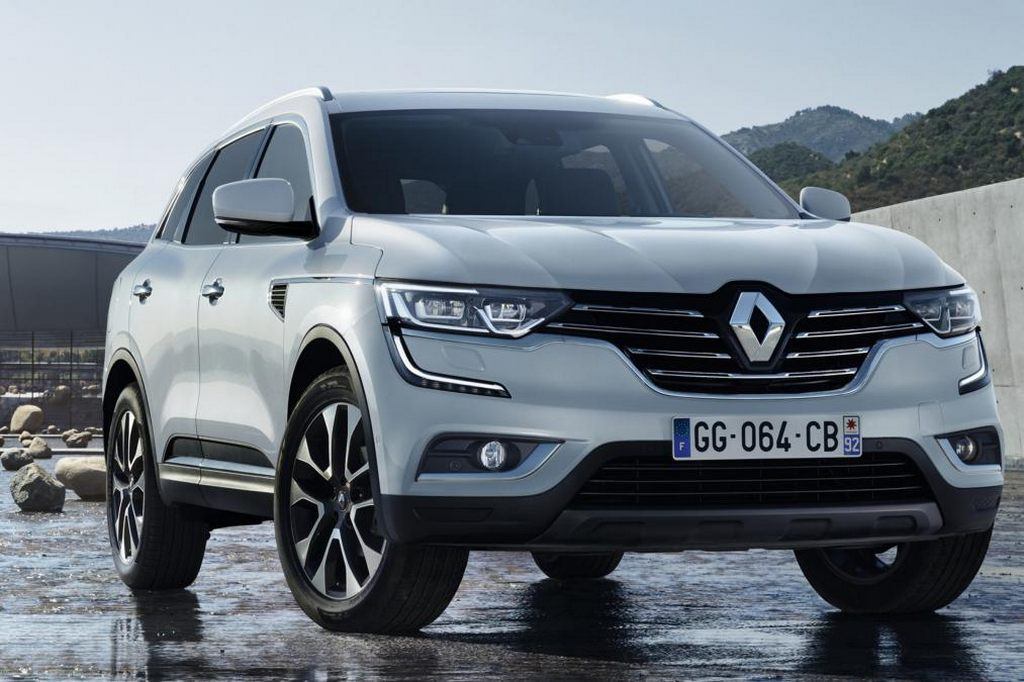 New Renault Koleos images leaked 1