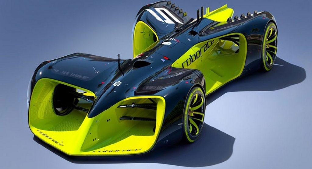 Roborace concept car revealed